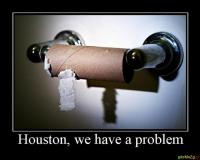Houston, we have a problem